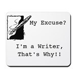 Mousepad for a Writer