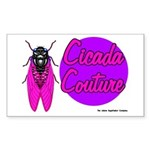 Cicada Couture P07 Rectangle Sticker