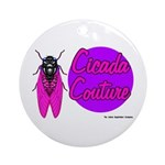 Cicada Couture P07 Ornament (Round)