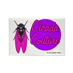 Cicada Couture P07 Rectangle Magnet