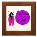 Cicada Couture P07 Framed Tile
