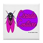 Cicada Couture P07 Tile Coaster