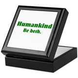 Human Kind Keepsake Box