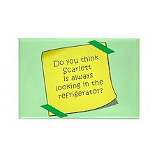 Scarlett Refrigerator Magnet Magnets