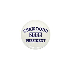 Chris Dodd for President 1&quot; Mini Button