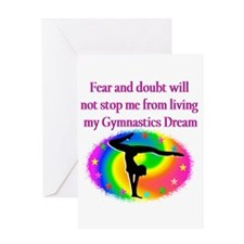 BLESSED GYMNAST Greeting Card