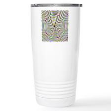 Tricolour Spiral Travel Mug