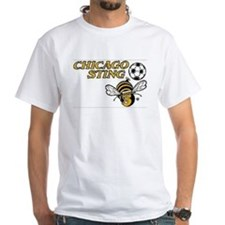 Chicago Sting White Tee