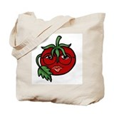 Tomato Face Tote Bag