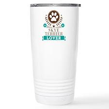 Skye terrier Dog Lover Travel Mug