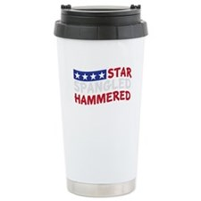 Star Spangled Hammered-01-01 Travel Mug