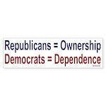 Bumper Sticker: Ownership vs Dependency
