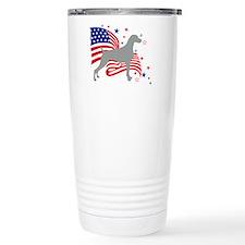 All American Weim Thermos Mug