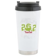 Marathon Optional Text Travel Mug