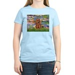 Lilies and Ruby Cavalier Women's Light T-Shirt