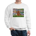 Lilies and Ruby Cavalier Sweatshirt