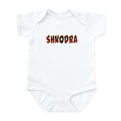 Albanian Cities Infant Bodysuit