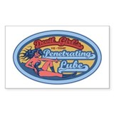 Penetrating Lube Rectangle Decal