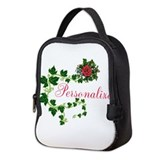 Personalized rose Lunch Bags