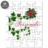 Personalize a rose Puzzles