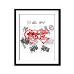 It's ALL about ME Framed Panel Print