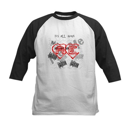It's ALL about ME Kids Baseball Jersey