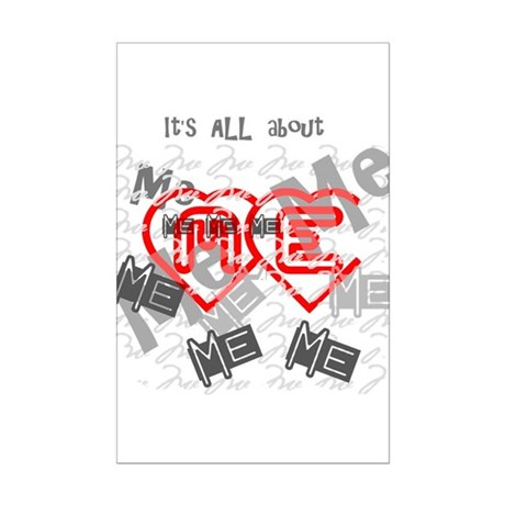It's ALL about ME Mini Poster Print