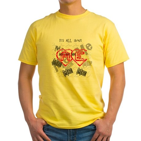 It's ALL about ME Yellow T-Shirt