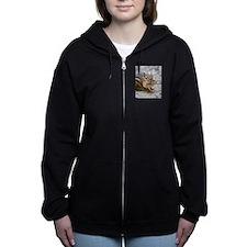Unique Chipmunk Women's Zip Hoodie