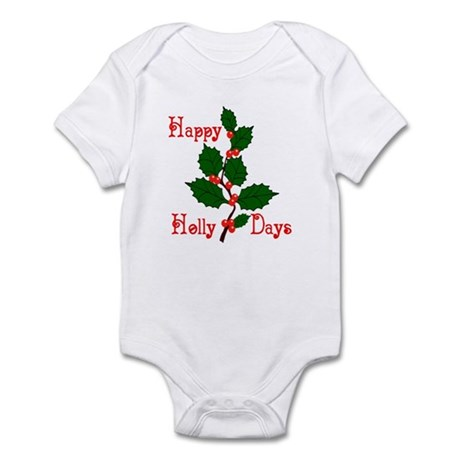 Happy Holly Days Infant Bodysuit