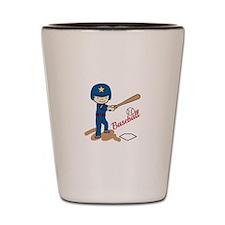 Baseball Boy Shot Glass
