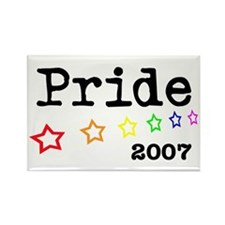 Pride 2007 Rectangle Magnet (10 pack)