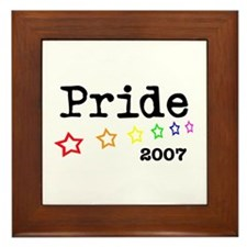 Pride 2007 Framed Tile