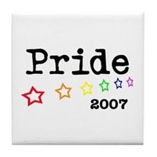 Pride 2007 Tile Coaster
