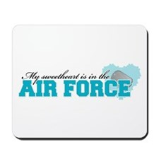 My sweetheart is in the Air F Mousepad