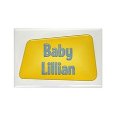 Baby Lillian Rectangle Magnet (100 pack)