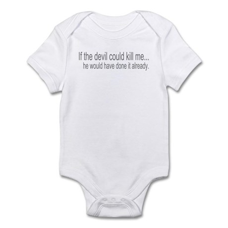 Devil Can't Kill Me Infant Bodysuit