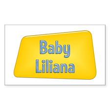 Baby Liliana Rectangle Decal