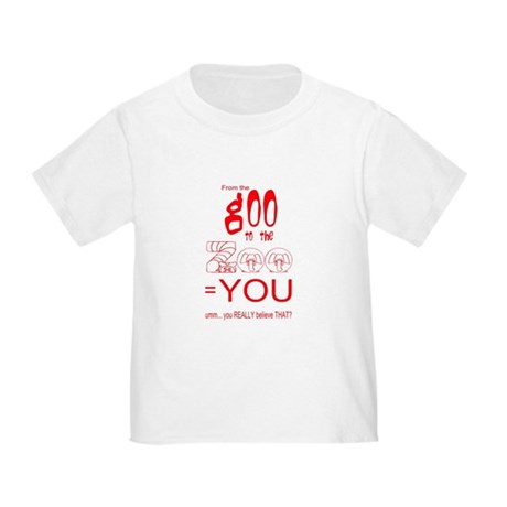 Anti Evolution Toddler T-Shirt