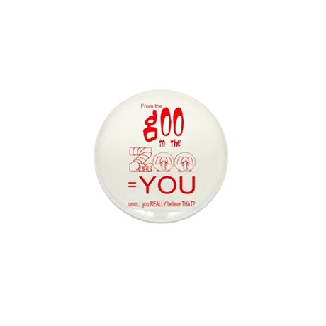 Anti Evolution Mini Button (100 pack)