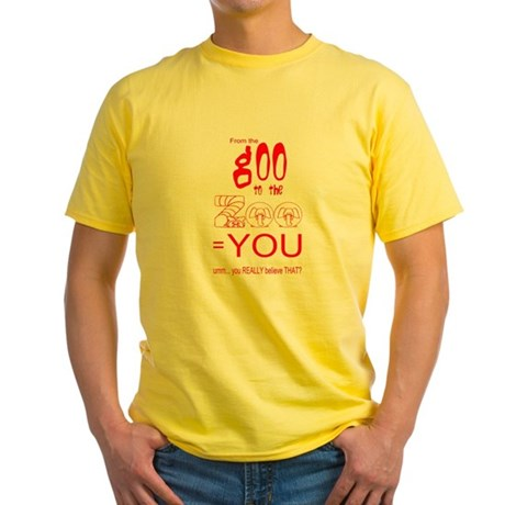 Anti Evolution Yellow T-Shirt