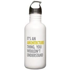 Its An Architecture Th Sports Water Bottle