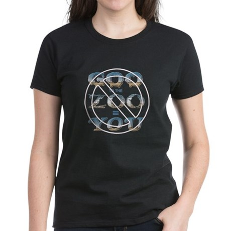 Anti-Evolution Women's Dark T-Shirt