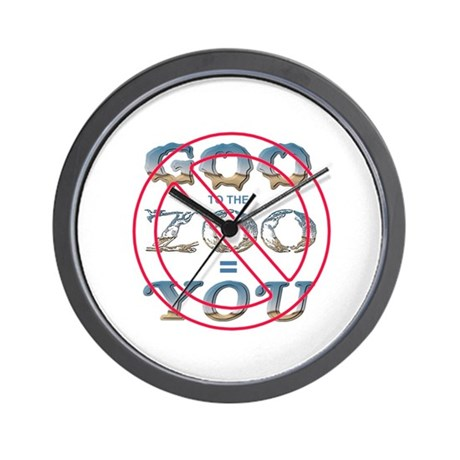 Anti-Evolution Wall Clock