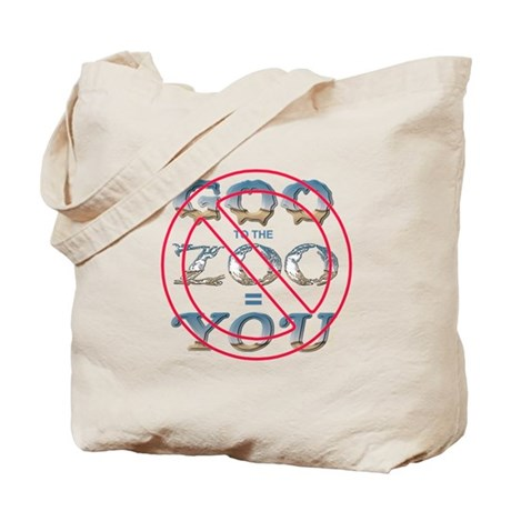 Anti-Evolution Tote Bag