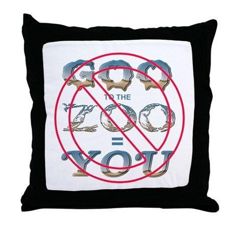 Anti-Evolution Throw Pillow