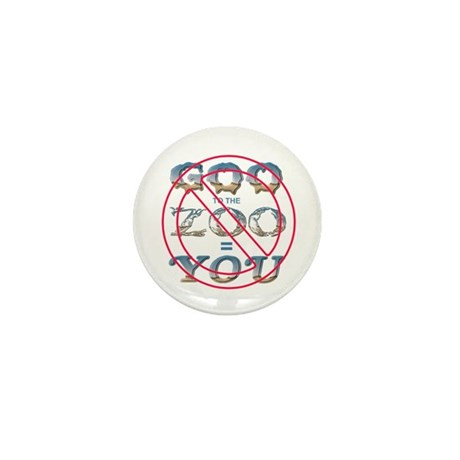 Anti-Evolution Mini Button (100 pack)