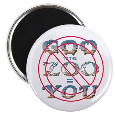 "Anti-Evolution 2.25"" Magnet (100 pack)"