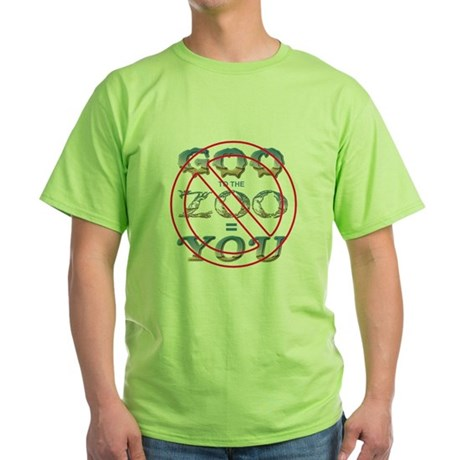 Anti-Evolution Green T-Shirt