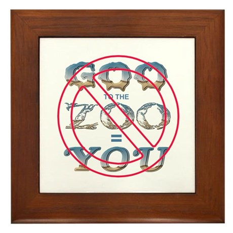 Anti-Evolution Framed Tile